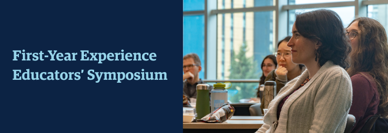 First year Experience Educators' Symposium